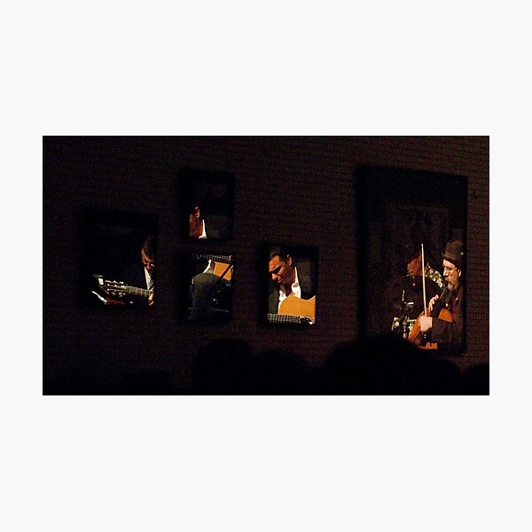 Billet-Deux Live Mayne Stage - A Reflection Photographic Print