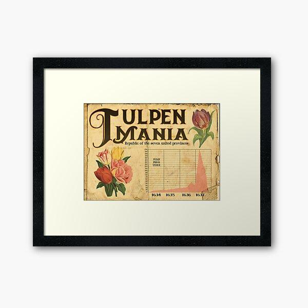 Tulpen Mania Framed Art Print