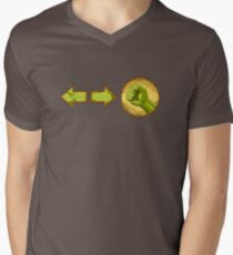 rolling attack - Blanka Men's V-Neck T-Shirt