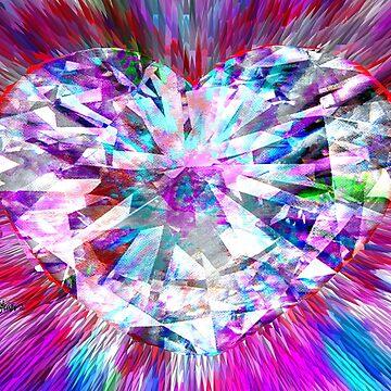 Diamond Heart by sethweaver