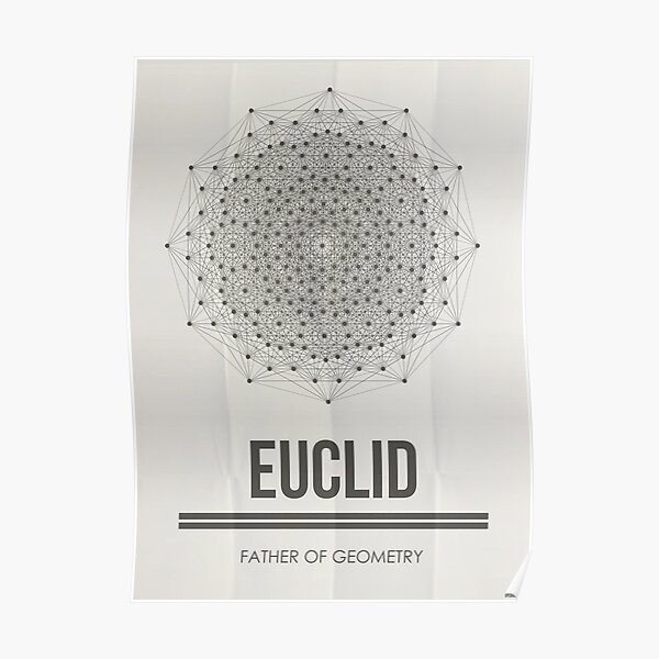 EUCLID - Mathematician Collection Poster