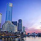 Melbourne Skyline by TomRaven