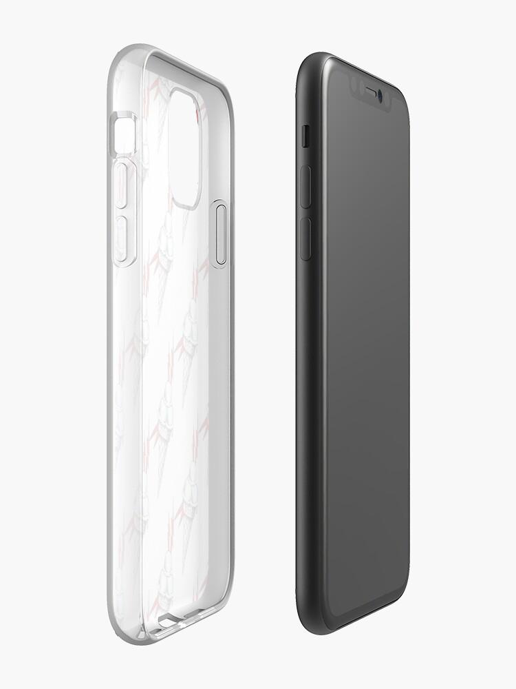 coque iphone 11 wax - Coque iPhone «crème glacée brrr», par elchicodelab