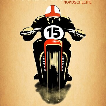 Vintage Nurburgring Nordschleife by rogue-design