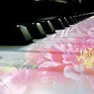 Flowered Piano Keys by Jerald Simon (Music Motivation - musicmotivation.com) by jeraldsimon