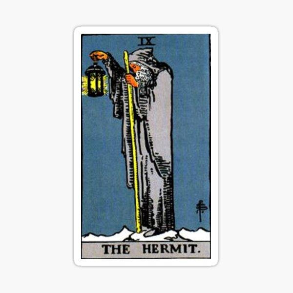 The Hermit Tarot Sticker