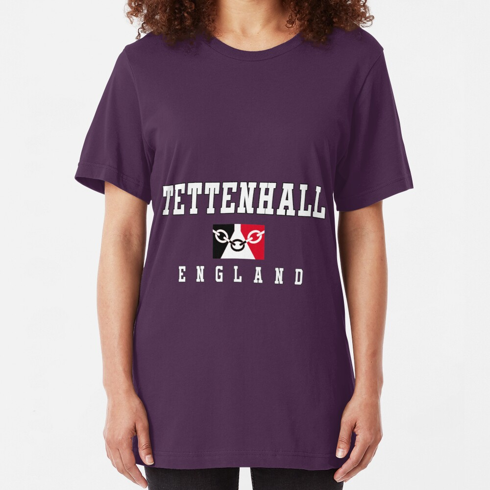 Tettenhall - Black Country Flag Slim Fit T-Shirt