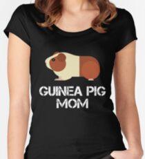 Guinea Pig Mom T-shirt échancré