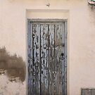 Faded Blue Door by Tom  Reynen