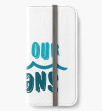 Save our oceans 1 iPhone Wallet/Case/Skin
