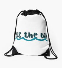 seas the day 2  Drawstring Bag