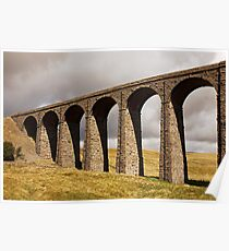 Ribble Viaduct - Yorkshire Dales Poster