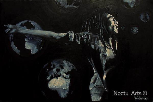 Cantando irie by Noctu  Arts ©