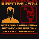 Rimmer Directive #574 Osmond Family by McPod