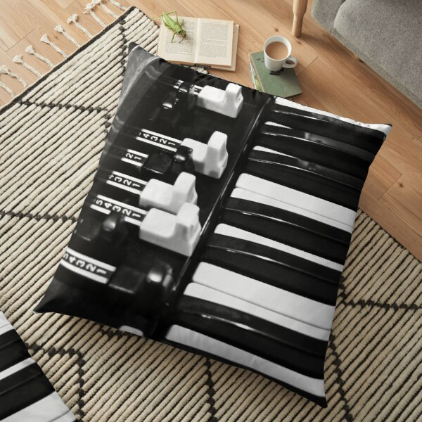 Hammond B3 Organ Floor Pillow