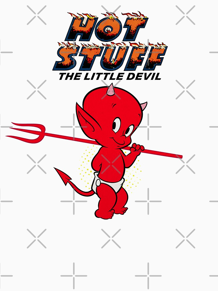 Hot Stuff the Little Devil with Logo by PissAndVinegar