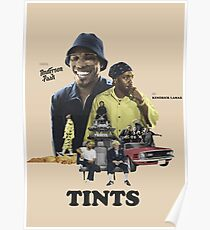 Tints Anderson Paak and Kendrick Poster