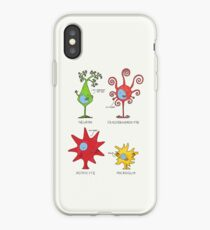 Meet your brain cells! - TALL iPhone Case