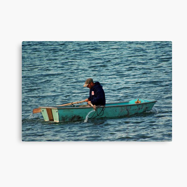 Rowing to Work Canvas Print