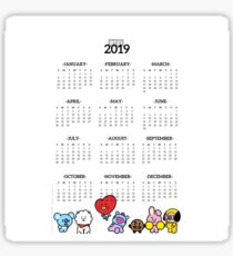 Bt21 2019 Stickers | Redbubble
