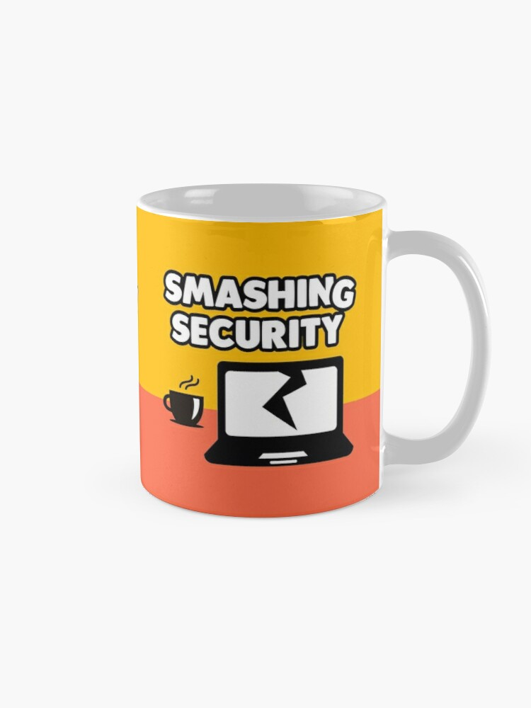 Alternate view of @SMASHINSECURITY - Twitter wouldn't allow us to have a 'G' Mug