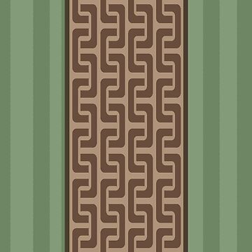 Abstract Bamboo Pattern by thepixelgarden