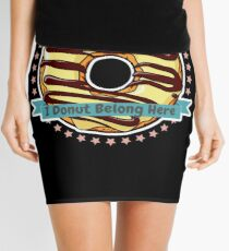 I Donut Belong Here Mini Bakery Shop Mini Skirt