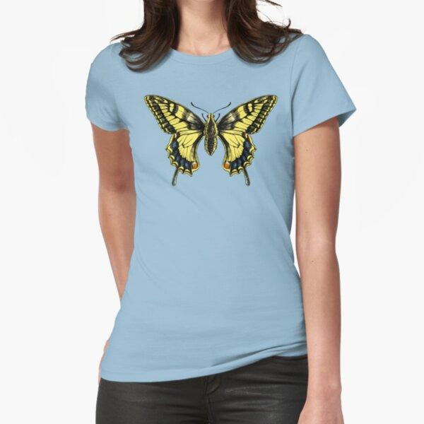 Swallowtail Fitted T-Shirt