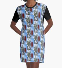 Gegen den blauen Himmel T-Shirt Kleid