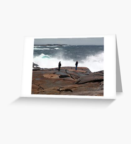 Braving the Storm Greeting Card