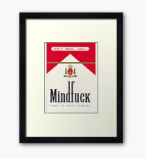 Mindfuck Acid House Flyer Framed Print