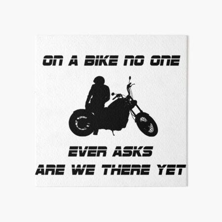 Biker Tote Bag Born To Ride Motorcycle Slogan Motorbike Art Gift Idea