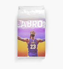 LABron Poster Duvet Cover
