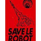 «Guardar Le Robot Acid House Flyer» de ELECTRONIC909