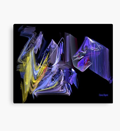 Complementary Chaos Canvas Print