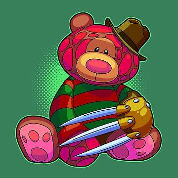 Horror Teddy Bear 2 by artdyslexia