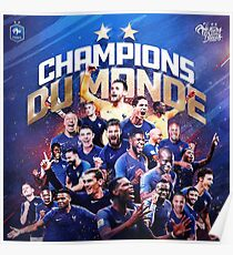 France - Champions of The World  Poster