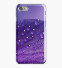 Purple rain ... drops iPhone Case/Skin
