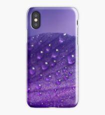 Purple rain ... drops iPhone Case/Skin