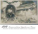Graf Zeppelin serving as a General in WWI  by edsimoneit