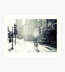 London in Black and White Art Print