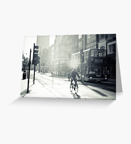 London in Black and White Greeting Card
