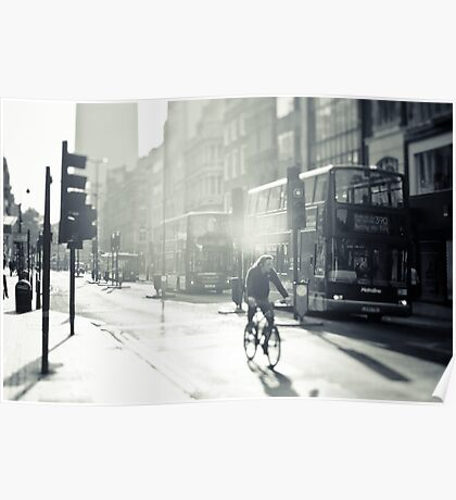 London in Black and White Poster