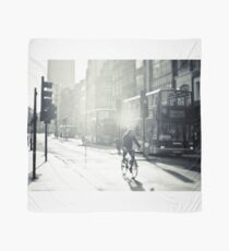 London in Black and White Scarf