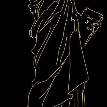 Statue Of Liberty by sportart
