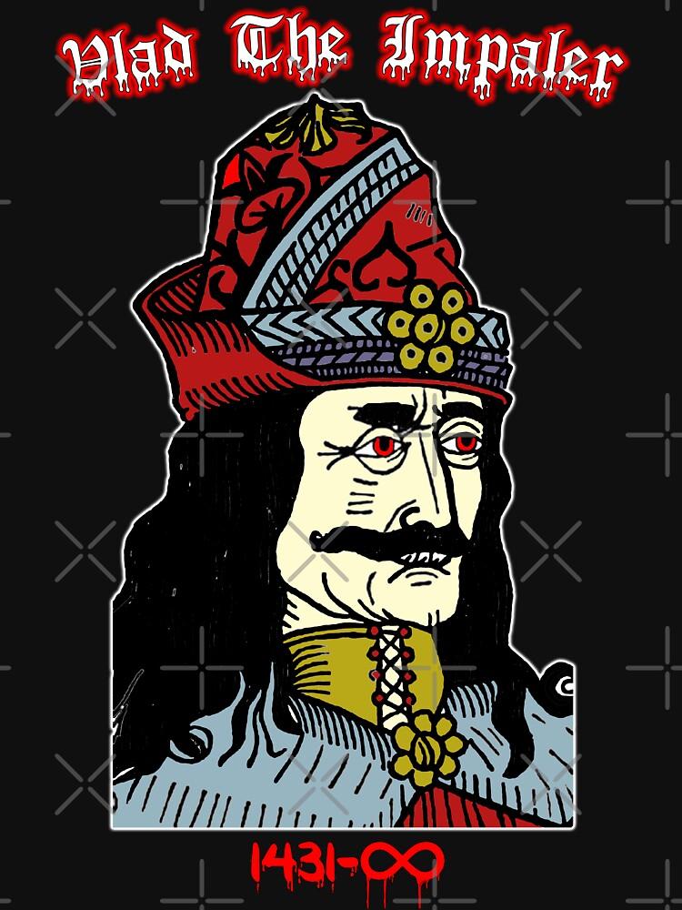 Vlad The Impaler: First Vampire Dracula by EnforcerDesigns