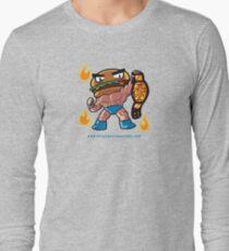 BTW - Jimmy Cheeseburger Long Sleeve T-Shirt