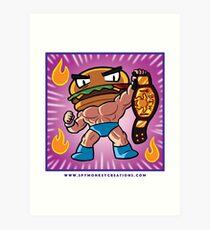 BTW - Jimmy Cheeseburger  Art Print