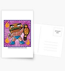 BTW - Jimmy Cheeseburger  Postcards