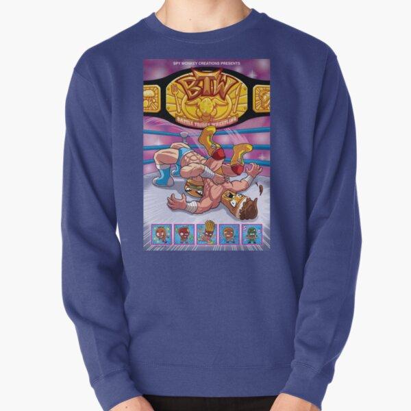 BTW - Battle Tribes Wrestling! Pullover Sweatshirt